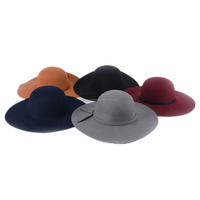 polyester wool felt hats