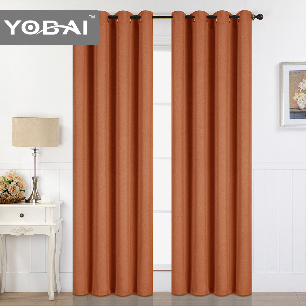 Cheap Wholesale 100 Polyester Blackout Curtains