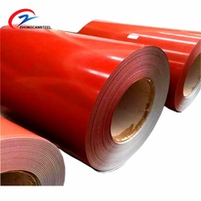 Prepainted Cold Rolled GI / PPGL / PPGI Steel Coil RAL Color Coated Galvanized Steel Sheet in Coil for Building Material