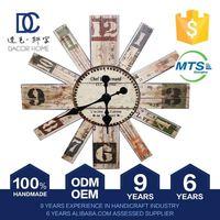 Premium Quality Oem Design Antique Wooden Wall Clock Kits