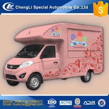 CN Famous Foton brand food truck 4x2 Stainless steel Restaurant mobile kitchen Most popular Juice Mixer Sodas Milk Tea wih milk
