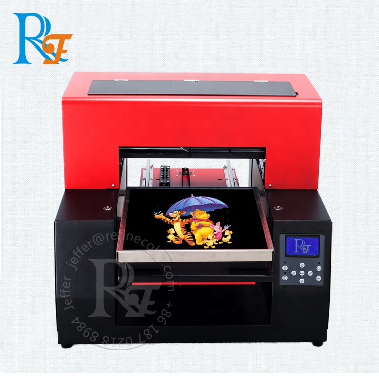 2019 Factory Price A3 Direct To Cotton CMYKWW 6 Color Dtg T shirt Printer For Sale