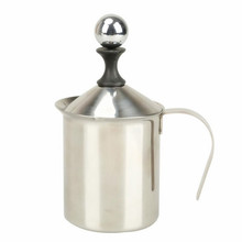 New Style Borosilicate Glass Stainless Steel Milk Frothing Pitcher French Coffee Tea Pot/Coffee Press Plunger