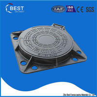 SMC EN124 D400 Sanitary Sewer Anti Theft Manhole Cover
