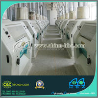 Superior quality auto control wheat high quality wheat flour mill equipment