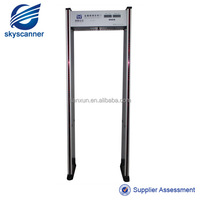 MD-600C 6zones Door Frame Metal Detector,walk through metal detector price For public security