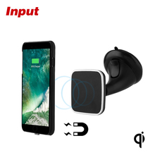 Magnetic Wireless Car Charger 3 in 1 Car Mount Holder Magnetic Wireless Charging Pad Station and Receiver
