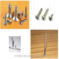 High quality stainless steel decorative wood screw/self tapping screw/machine screw