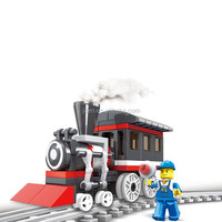 Baby Boy ABS Plastic Type Funny Train Toy Of Train Series