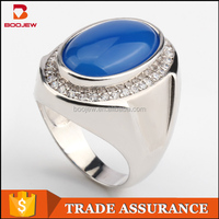Fashion jewellery online images simple design jewelry unique dull polish design big agate men silver ring