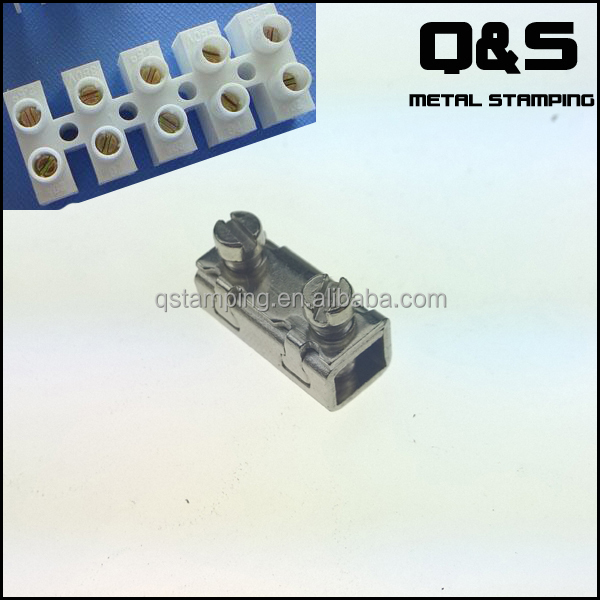 stamping connector terminal block , screw terminal block for connector