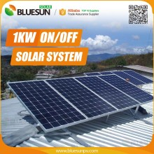 Alibaba trade assurance 1kw off grid solar panel roof racking system