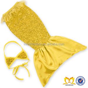 mamá piezas Conjuntos niña Bikini de Diseño Moda traje 2 baño niños de doradas y lentejuelas 2016 wY5FAx1