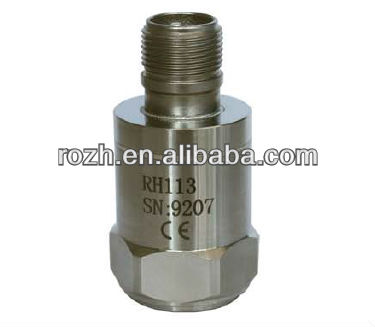 Low frequency piezo accelerometer