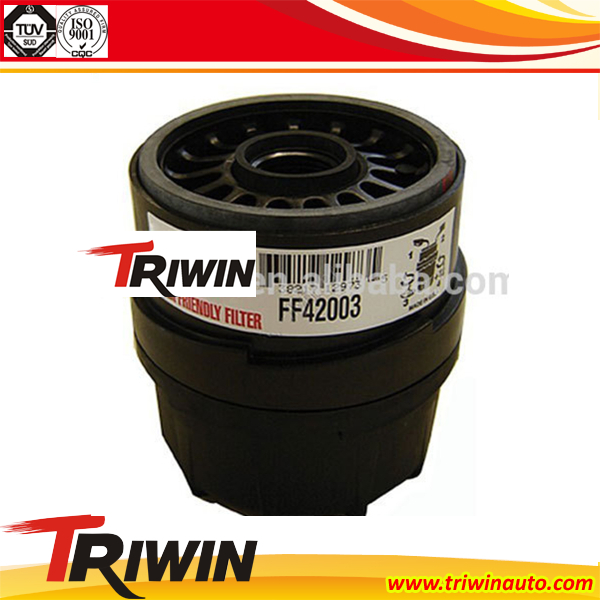 Low price diesel engine parts truck car parts fuel oil auto filter FF42003