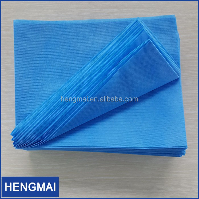 EO Sterilized Hospital Medical Disposable Bed Mat Cutting Spa Draw Sheet
