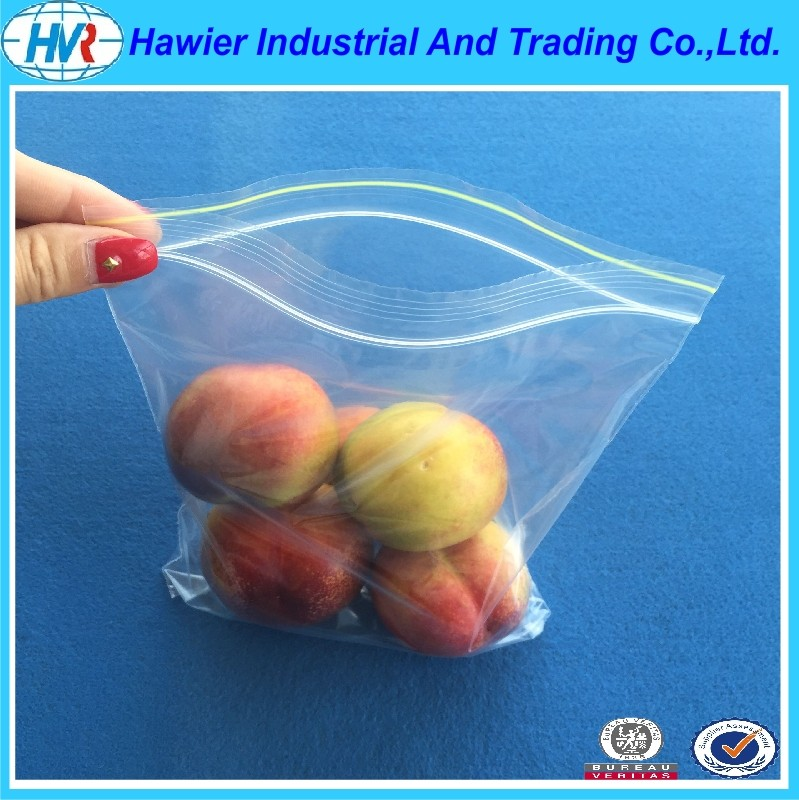 custom sizes ldpe poly plastic ziplock plastic bag