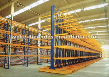 steel storage cantilever racking system