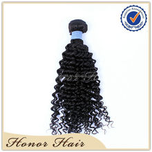 Unprocessed virgin human hair natural black Cambodian kinky curly hair weaves arjuni hair