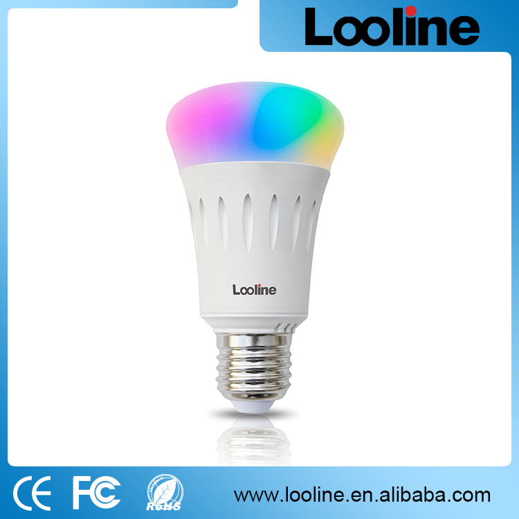 Looline Background Light 6W E27 Multi Color Change Wifi Control LED Bulb
