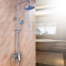 Modern design wall mounted concealed shower set massage spa rainfall steam bath shower set