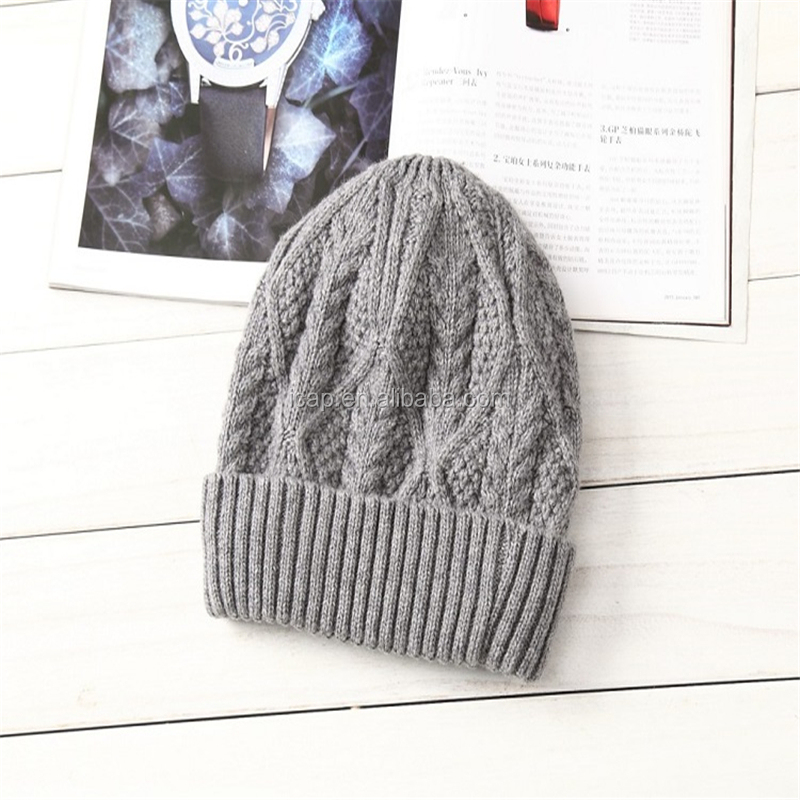 Korean winter winter hat male tide wool hat knitted hat thick warm wool hat cap outdoor ear muffs