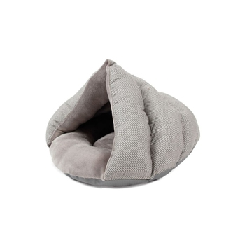 Low MOQ Comfortable Short Plush Cat Cave Bed For Sale,dog cave bed