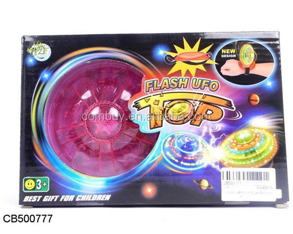 New product light toys finger gyroscope crazy spinner hand