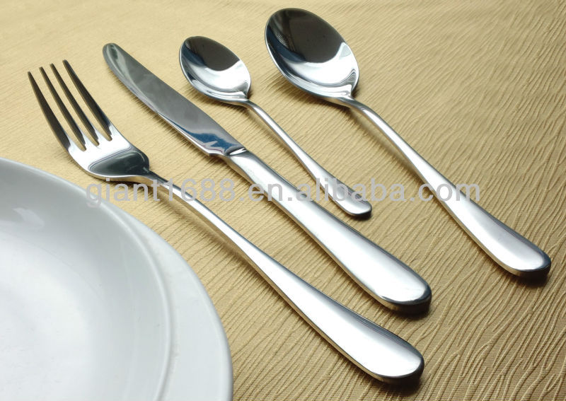 Korean Stainless Steel Hollow Handle Cutlery
