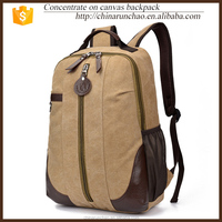 china supplier laptop men canvas backpack bag sports bag bags for girl school backpack ricksack hiking