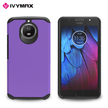 Ivymax Factory Price Protective Back Armor Case For Moto G5S Plus