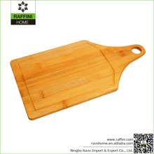 Wholesale Kitchen Products Bamboo Pizza Cutting Board