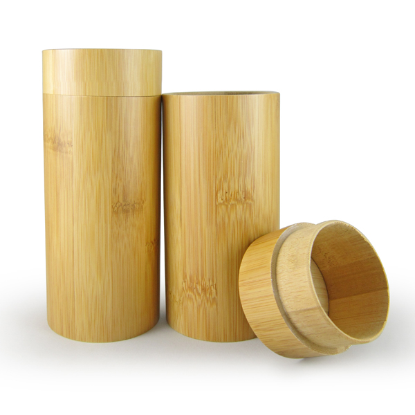 Cheap wholesale wood spectacle case, round bamboo box