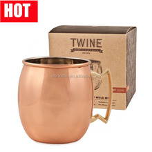 double wall moscow mule copper mug