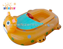2017 hot selling Electric kiddie inflatable bumper float boat