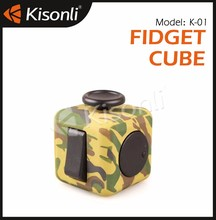 New Desk toy Anti Stress Cube Fidget/Christmas gift Puzzle Magic toys/six sides release stress cube