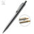 2018 Office Supplies Promotion sliver ballpoint pen with logo Free sample