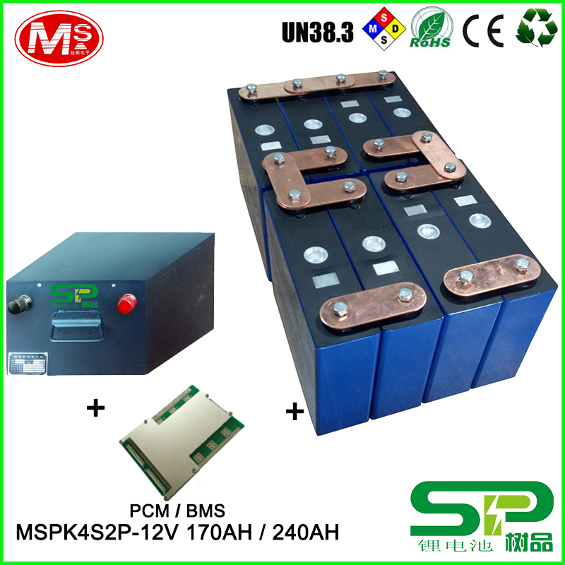 Chinese manufacture rechargeable lithium ion Battery pack 12V 170AH 240AH for solar power supply and power storage