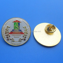 American University Of Nigeria Academy Citizen Award Gold Lapel Pin With Epoxy