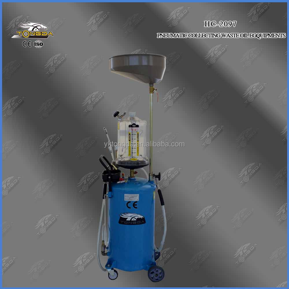 pneumatic waste oil collector/oil drainer/oil extractors 80L from tongda tools