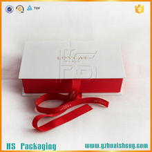 Elegant Paper Gift Box Book Shape With Divider Design