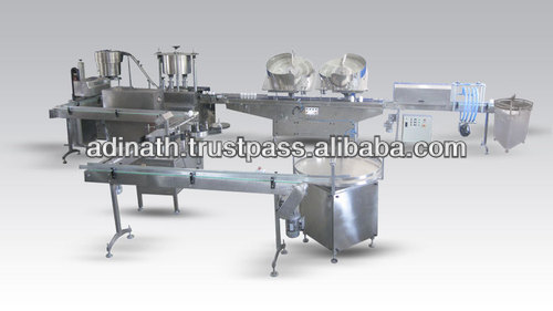 Complete Tablet Counting & Filling Line
