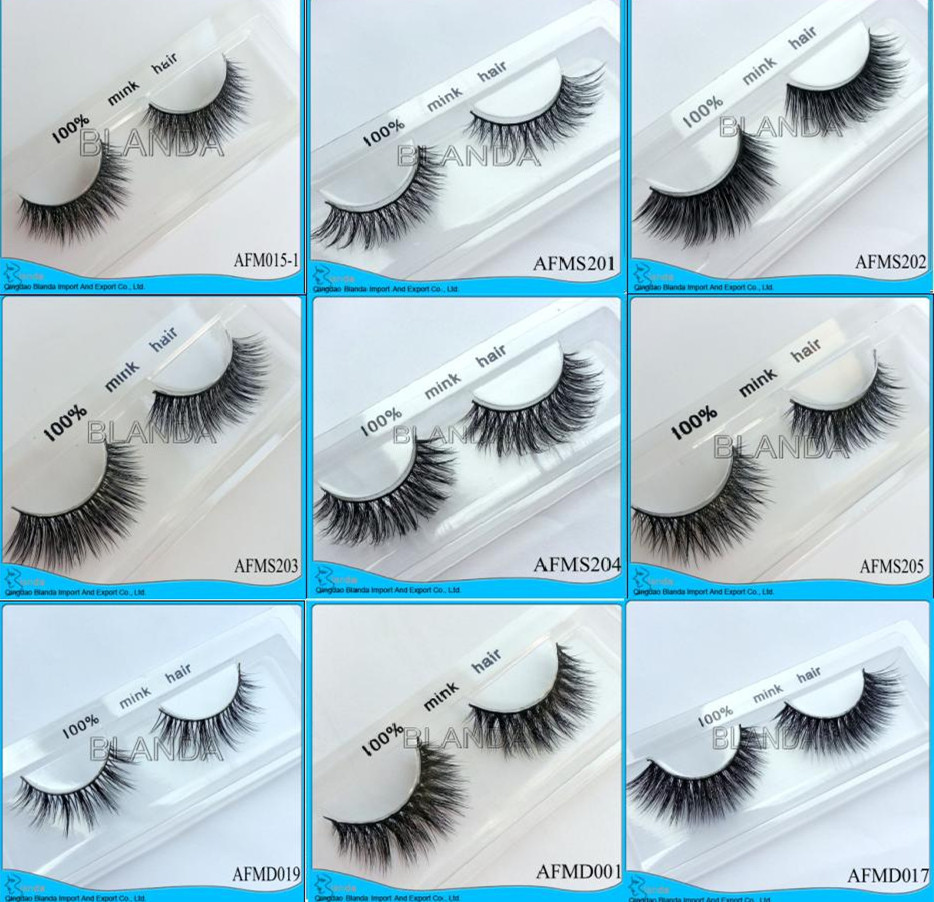 False Eyelashes Manufacturer , 100% Human Hair Made False Eyelash,Private Label Strip Lashes