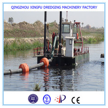 High efficiency diesel type cutter suction dredger boat/cutter suction river mud sand dredger vessel/river sand dredger for sale
