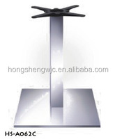 201# HS-A062C Stainless Steel Commerical Industrial Table Base Table Leg Furniture Leg