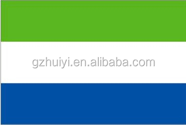 Customized SIERRA LEONE NATIONAL FLAGS