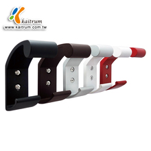 Kaitrum Bathroom Accessories Aluminum Powder Coating Silver Color wall mounted single post Robe decorative wall Hook