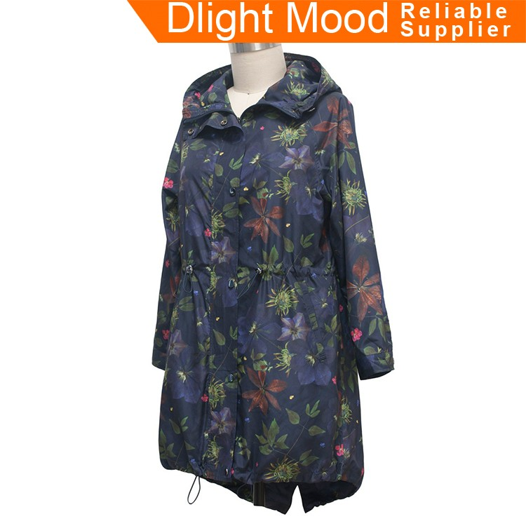 Special design widely used women overcoat