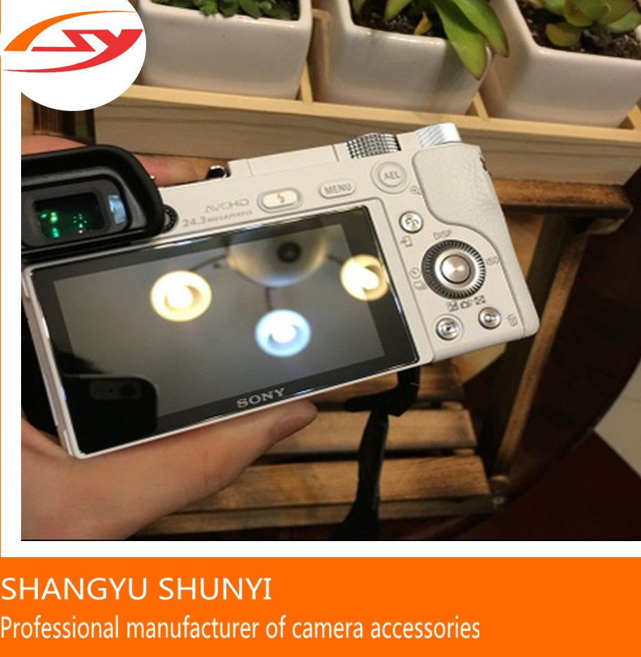 Factory Manufacturer Digital Camera A6000 Tempered Glass Screen Protector