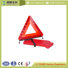 Factory price reflective folding tripod safety triangle kit